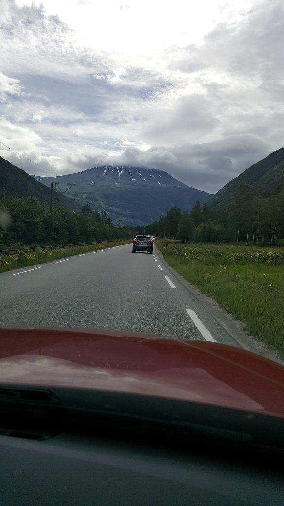Onderweg richting Rjukan