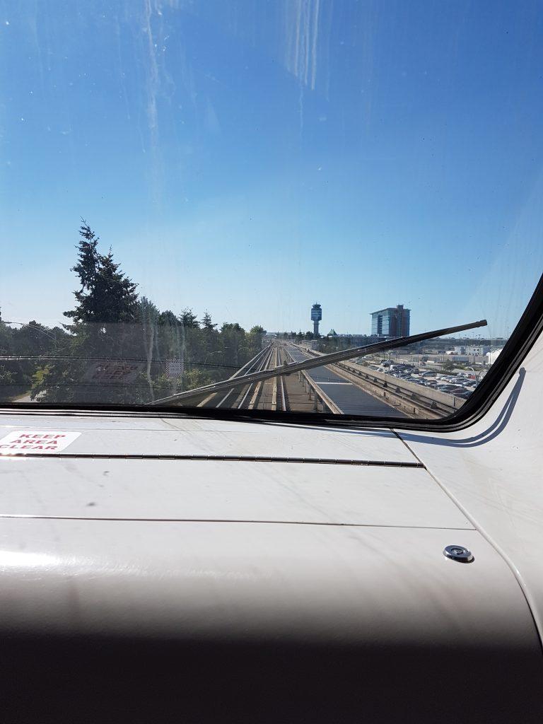 Canada Line Sky train